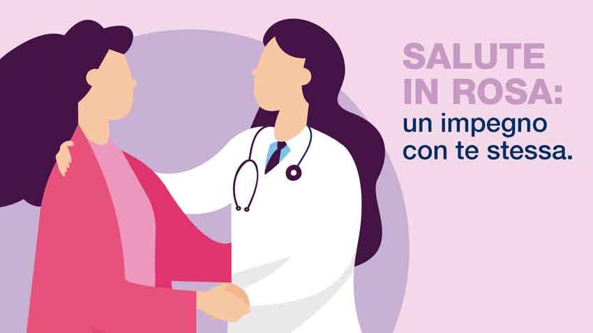 Salute in rosa: un impegno con te stessa.