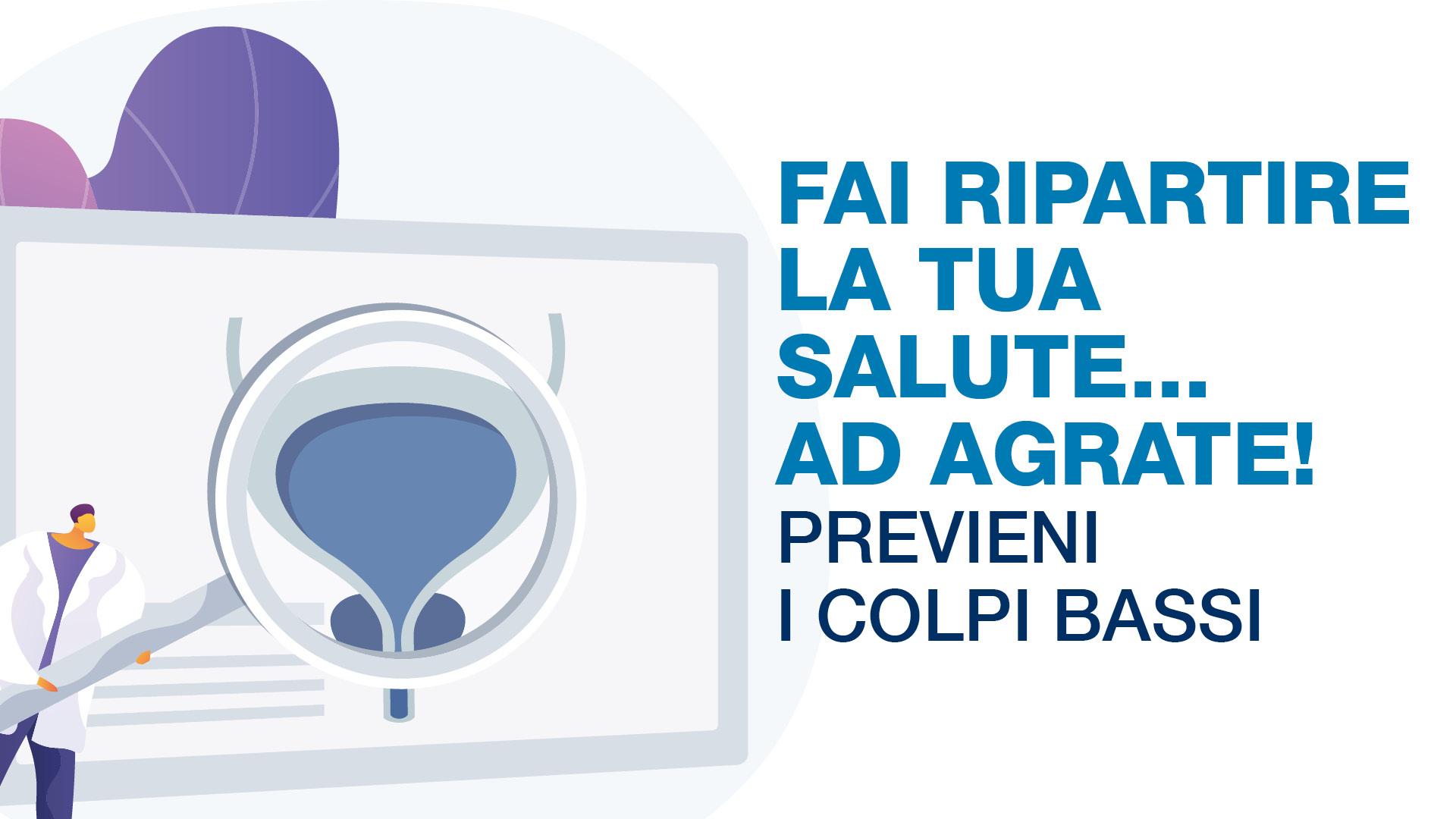 """Agrate Brianza: in partenza la campagna di prevenzione """"Previeni i Colpi Bassi"""""""
